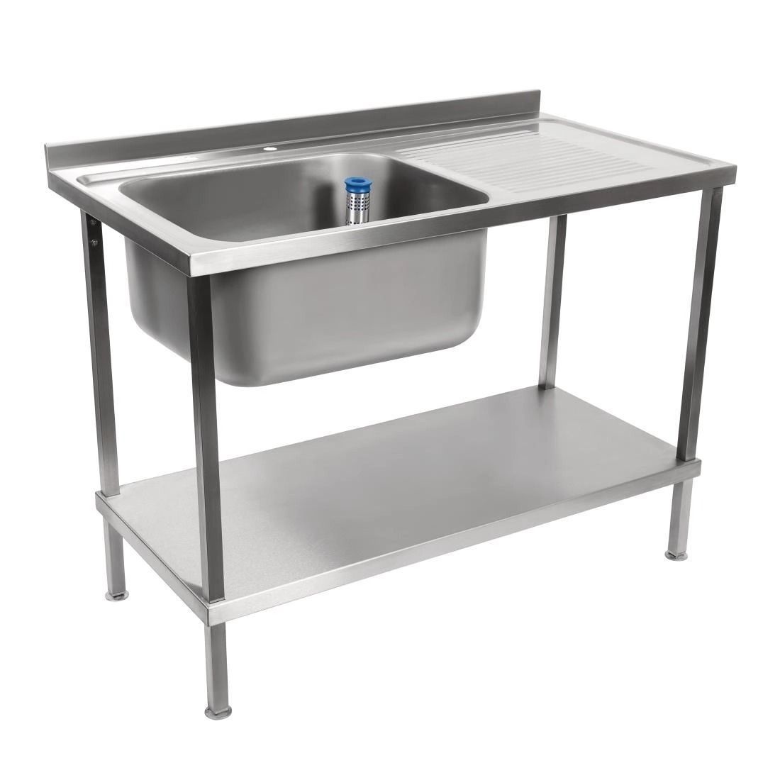Holmes Fully Assembled Stainless Steel Sink Right Hand Drainer 1500mm - DR386